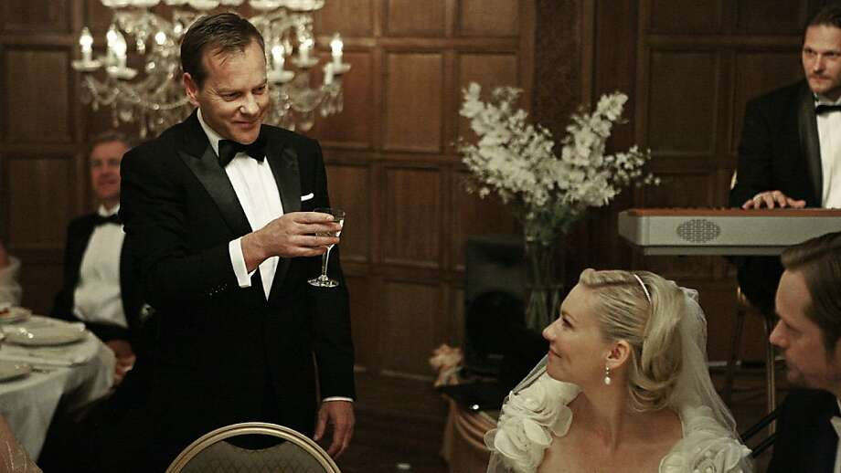 Kiefer Sutherland and Kirsten Dunst in MELANCHOLIA Photo: Zentropa Entertainments, Outnow.ch
