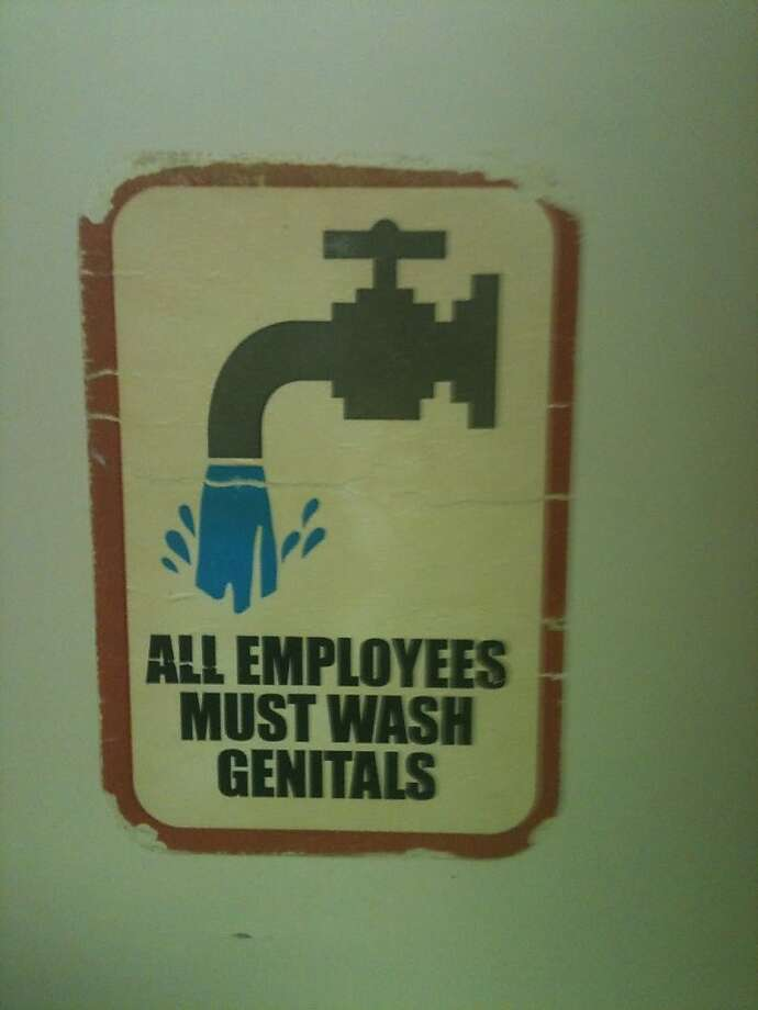 Clean hands, however, are optional. South Louisiana. Photo: Trey Marshall, Signspotting.com
