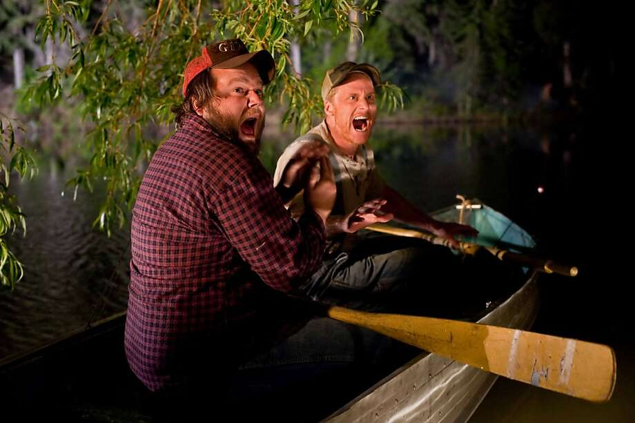 Tyler Labine and Alan Tudyk in TUCKER & DALE VS. EVIL, a Magnet Release. Photo: Courtesy Of Magnet Releasing