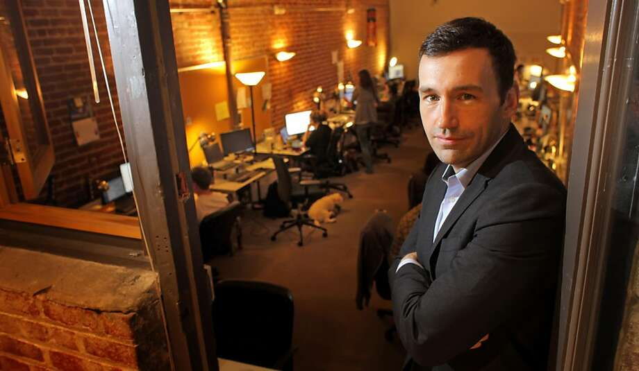 Ryan Howard, CEO of Practice Fusion at his office, Thursday September 29, 2011, in  San Francisco, Calif.  Practice Fusion is a company that provides an electronic medical record system linking patients to their doctors and health professionals. Photo: Lacy Atkins, The Chronicle