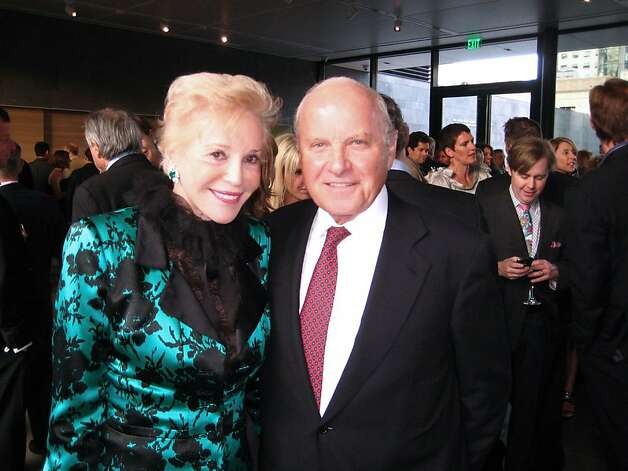 Ann Johnson and her husband, Franklin Templeton Chairman Charles Johnson, at SFMOMA's 75th Anniversary Dinner. May 2010.   Ran on: 09-25-2011 Investor Charles Johnson, shown with wife Ann, will be buying a large chunk of the Giants. Photo: Catherine Bigelow, Special To The Chronicle