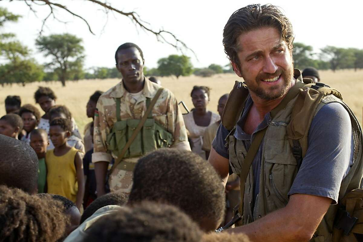 Machine Gun Preacher (2011) Gerard Butler plays Sam Childers, the impassioned founder of Angels of East Africa, in