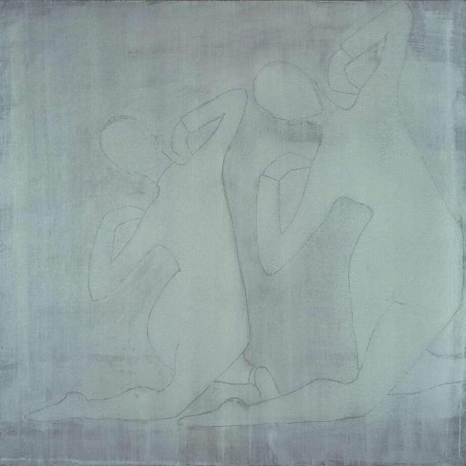 "Silke Otto-Knapp: ""Two Figures (white)"" Photo: Courtesy Of The Artist"
