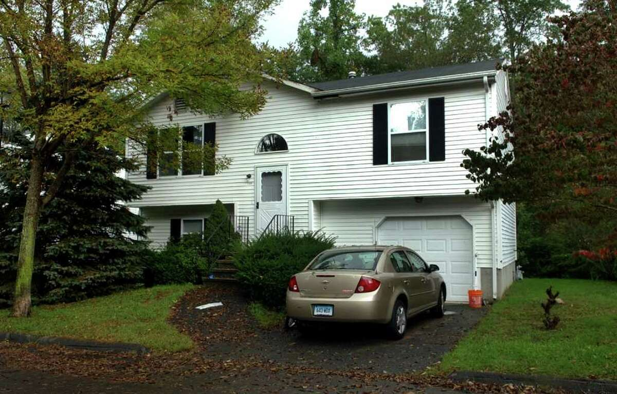 A view of the Fox residence at 123 Branca Court in Milford, Conn. on Thursday September 29, 2011 where Cathy Fox was murdered by her husband in an apparent muder/suicide at the home last Friday.
