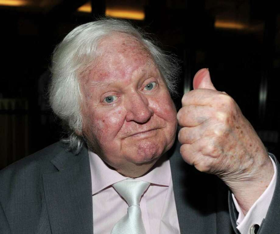 """BEVERLY HILLS, CA - MAY 21:  (FILE PHOTO) Director Ken Russell, 84, has reportedly died on November 27, 2011. Please refer to the following profile on Getty Images Archival for further imagery of Ken Russell  http://www.gettyimages.co.uk/Search/Search.aspx?EventId=134305207&EditorialProduct=Archival  Director Ken Russell attends the Academy of Motion Picture Arts and Sciences (AMPAS) presents the 35th Anniversary of The Who's """"Tommy"""" on May 21, 2010 in Beverly Hills, California.  (Photo by Frazer Harrison/Getty Images) Photo: Frazer Harrison / 2010 Getty Images"""