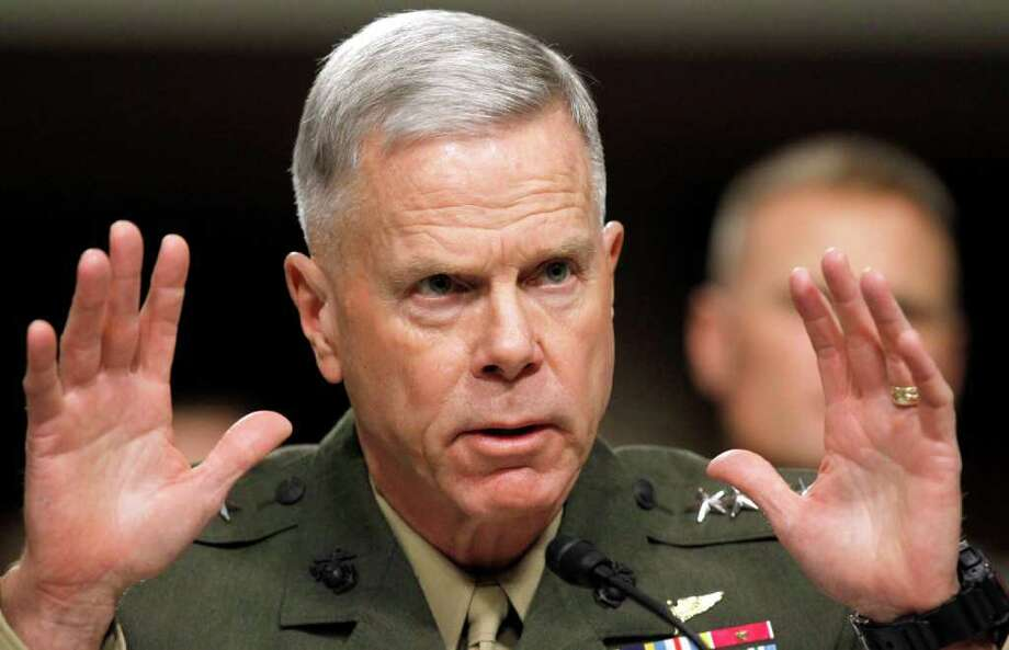 Marine Corps Commandant Gen. James Amos approved an investigation in addition to the one under way by Naval Criminal Investigative Service. Photo: Alex Brandon / AP