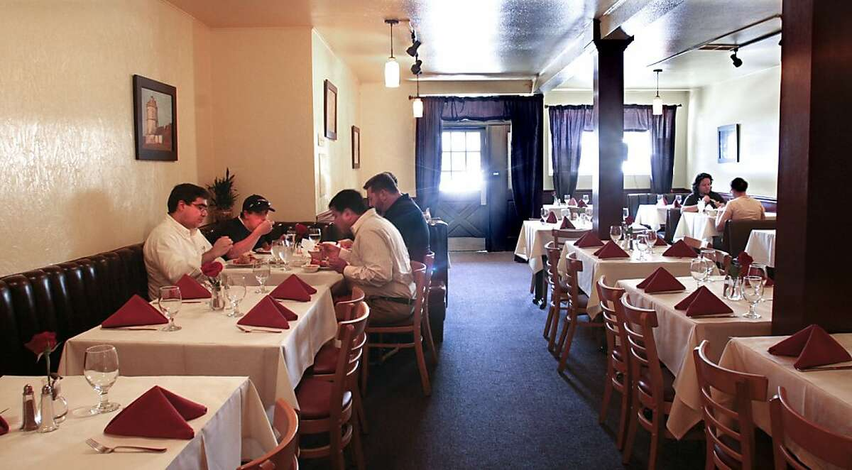 Diners enjoy lunch at Viva Goa Restaurant In San Francisco, Calif., on June 30th, 2011.