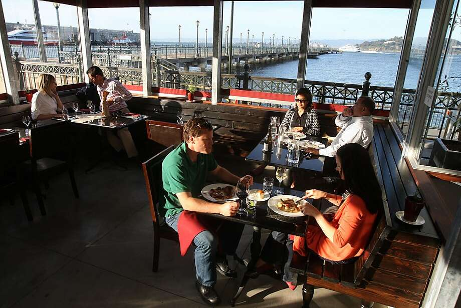 Lafitte, a restaurant by underground chef Russell Jackson, at Pier 5 in San Francisco, Calif., on Tuesday, June 1, 2010. Photo: Liz Hafalia, The Chronicle