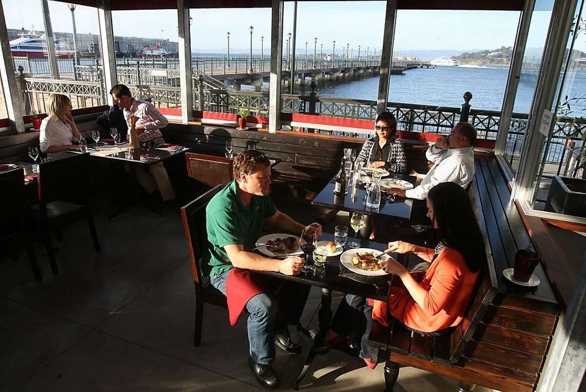 Lafitte, a restaurant by underground chef Russell Jackson, at Pier 5 in San Francisco, Calif., on Tuesday, June 1, 2010.