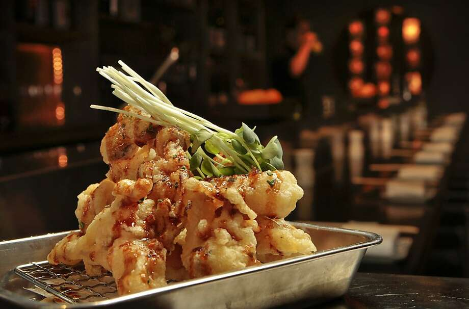 The Kinoko tempura at Chotto restaurant In San Francisco, Calif.,  is seen on June 24th, 2011. Photo: John Storey, Special To The Chronicle