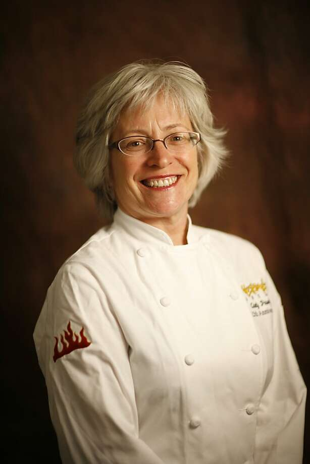 Cindy Pawlcyn, chef at Go Fish in St. Helena, Calif. on June 13, 2008.  Photo by Craig Lee / The Chronicle Photo: Photo By Craig Lee, The Chronicle