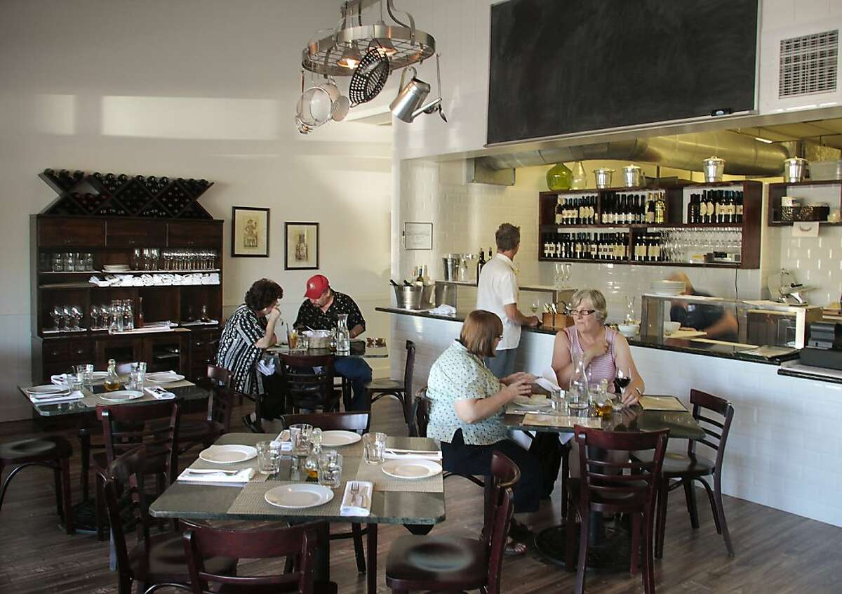 The interior of Mint 54 restaurant in Concord, Calif., is seen on June 15th, 2011.