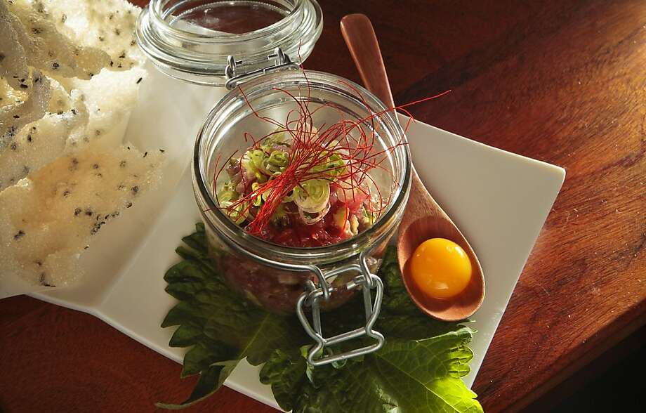 The Tuna Tartare at Hecho Restaurant in San Francisco, Calif., is seen on June 10th, 2011. Photo: John Storey, Special To The Chronicle