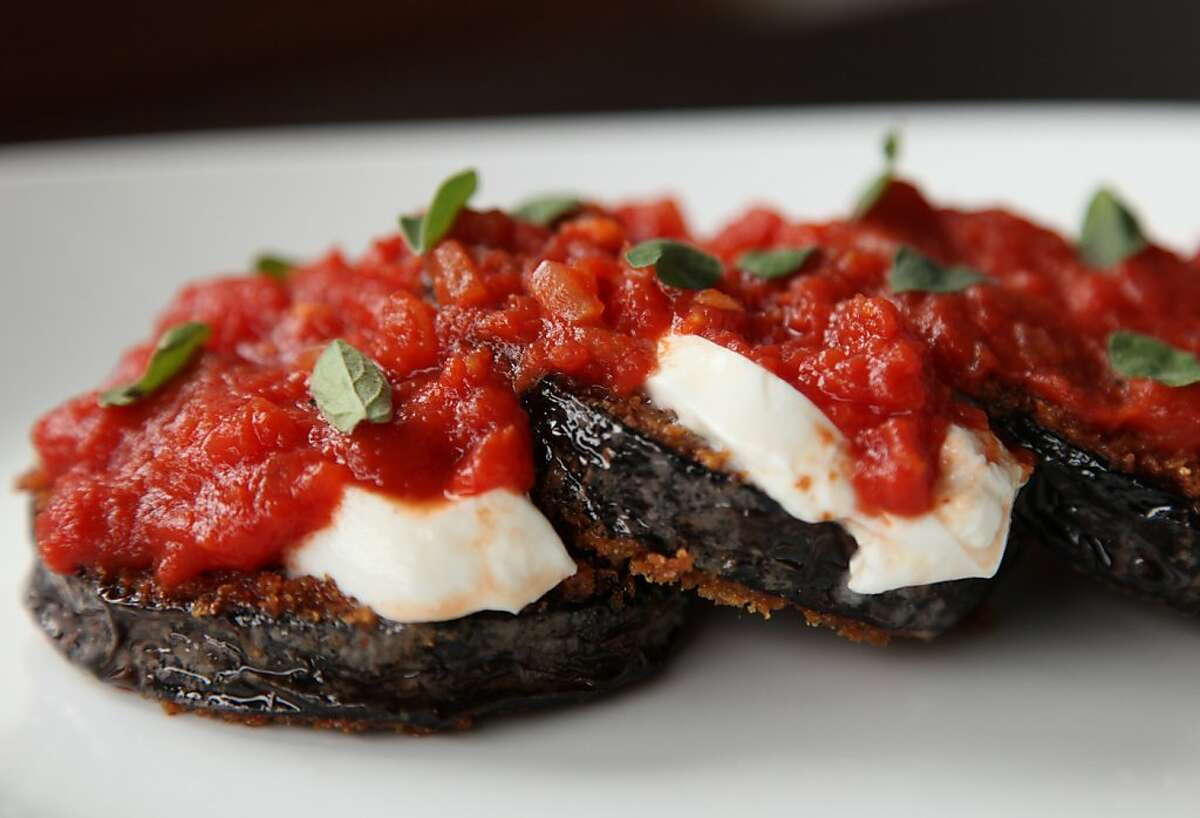 The Eggplant Parmesan is a house favorite of many staff members at Bar Bocce.
