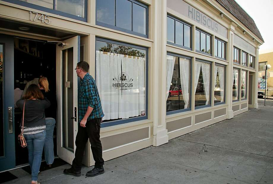 The exterior of Hibiscus restaurant in Oakland, Calif., is seen on Sunday, May 22, 2011. Photo: John Storey, Special To The Chronicle