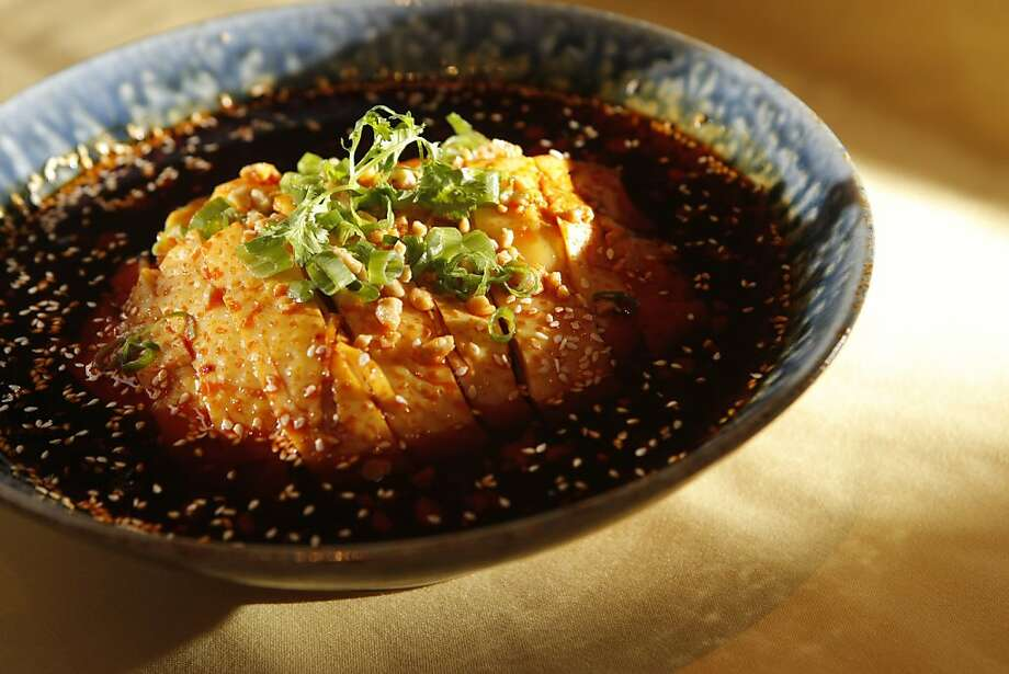 Mouthwatering Chicken dish at The Pot Sticker in San Francisco, Calif., on Friday, May 20 2011. Photo: Thomas Levinson, The Chronicle