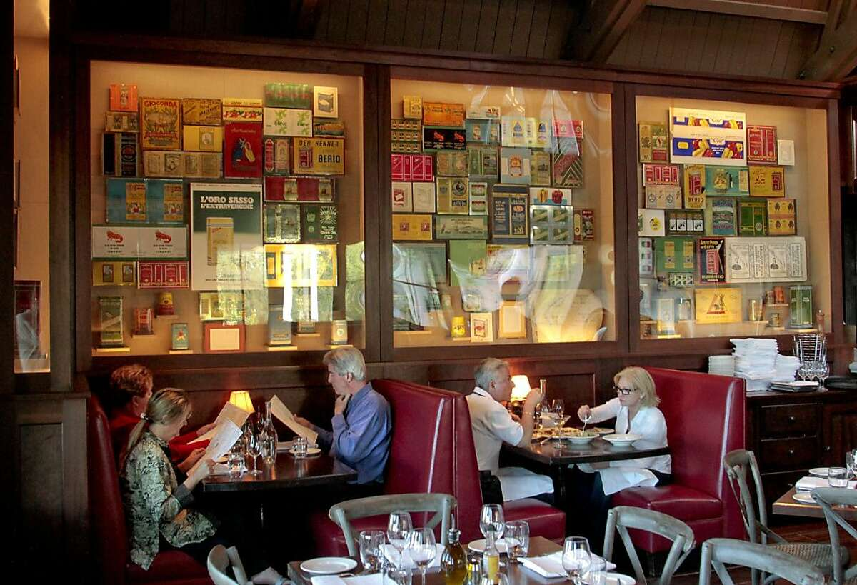 The interior of Rustic Restaurant in Geyserville, Calif. is seen on Saturday, April 30th, 2011.