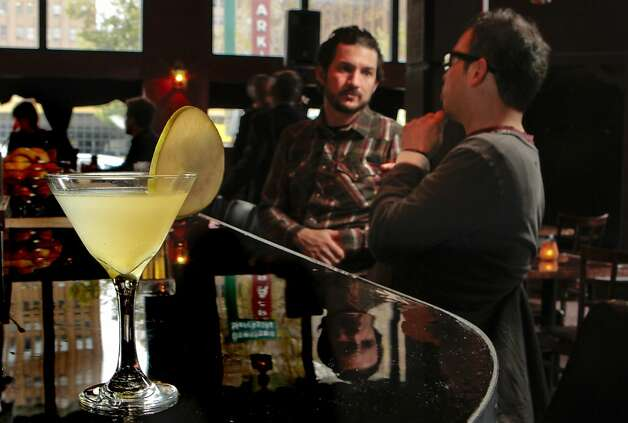 The Pear Martini at Disco Volante restaurant in Oakland, Calif. is seen on Saturday, March 26th  2011. Photo: John Storey, Special To The Chronicle