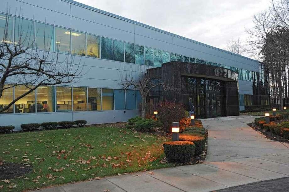 Exterior of Philips Medical MR in Colonie, N.Y. Monday, Nov. 28, 2011. (Lori Van Buren / Times Union) Photo: Lori Van Buren