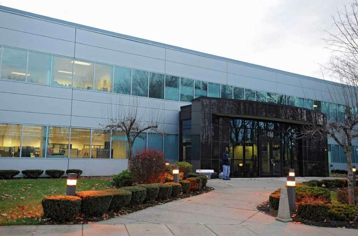 Exterior of Philips Medical MR in Colonie, N.Y. Monday, Nov. 28, 2011. (Lori Van Buren / Times Union)