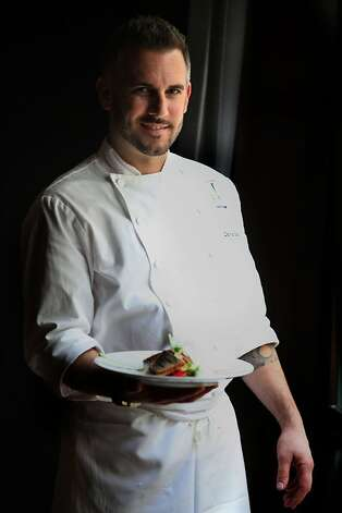 David Bazirgan who is the new head chef of Fifth Floor restaurant in San Francisco, Calif., on Monday, March 22, 2011. Photo: Liz Hafalia, The Chronicle