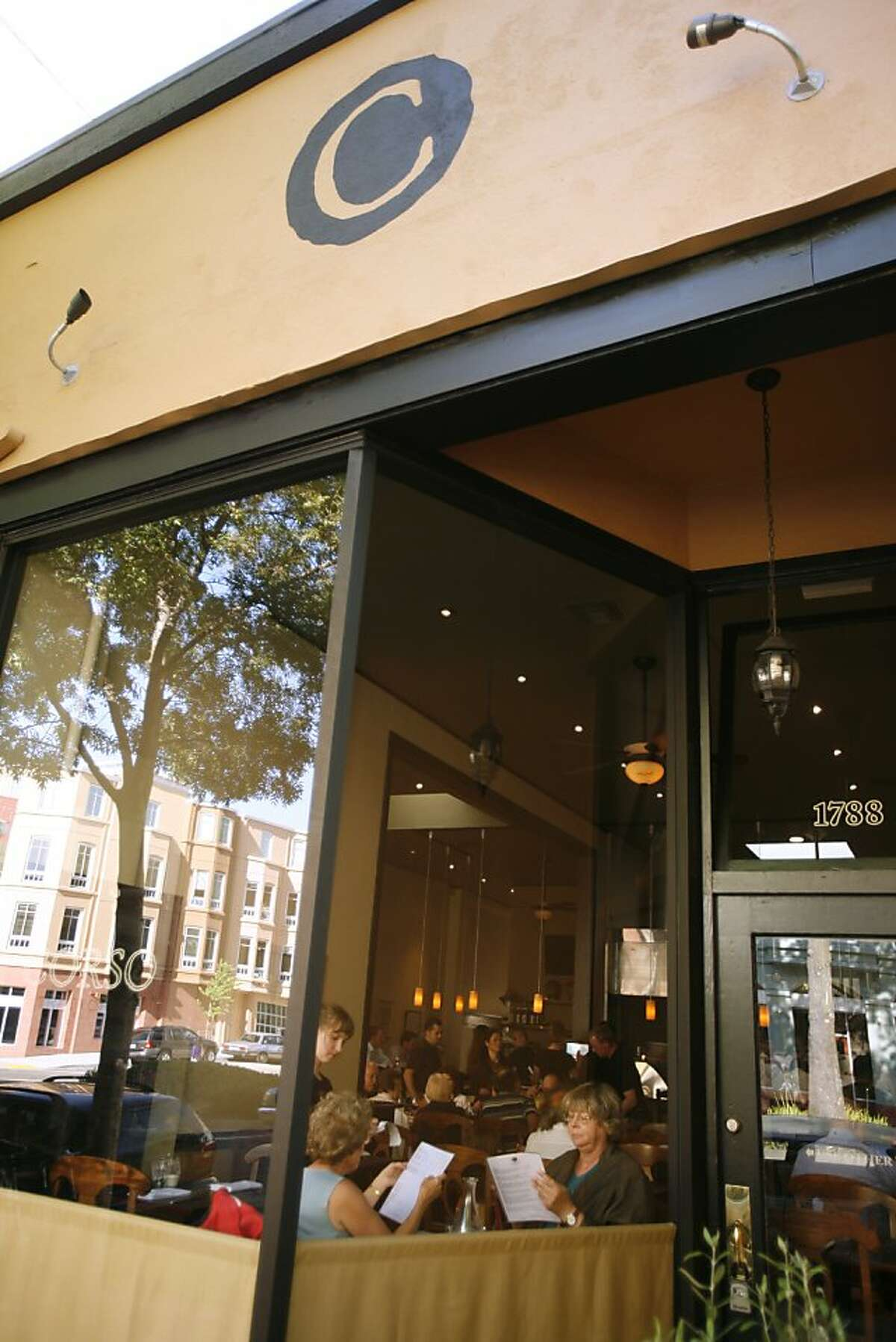 Corso, a new restaurant at 1788 Shattuck Avenue, in Berkeley, Calif., on June 11, 2008. Photo by Craig Lee / The Chronicle