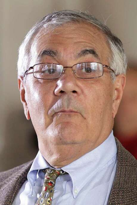 Rep. Barney Frank, D-Mass. announces he will not seek reelection in 2012, Monday, Nov. 28, 2011, in Newton, Mass. (AP Photo/Stephan Savoia) Photo: Stephan Savoia / AP