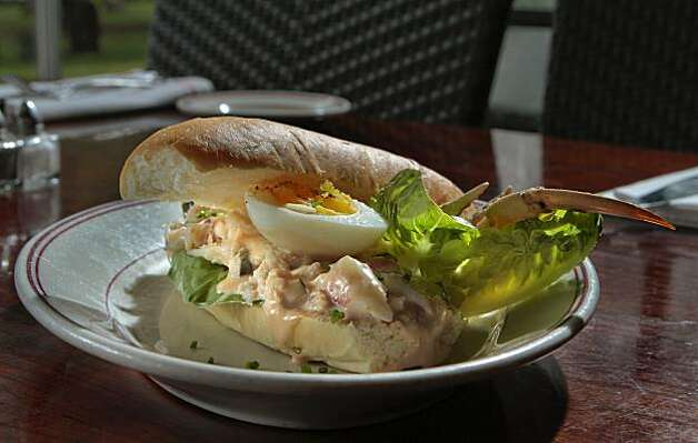The Crab Louie sandwich at the Presidio Social Club in San Francisco, Calif.,  is seen on Thursday,  February 17th,  2011. Photo: John Storey, Special To The Chronicle