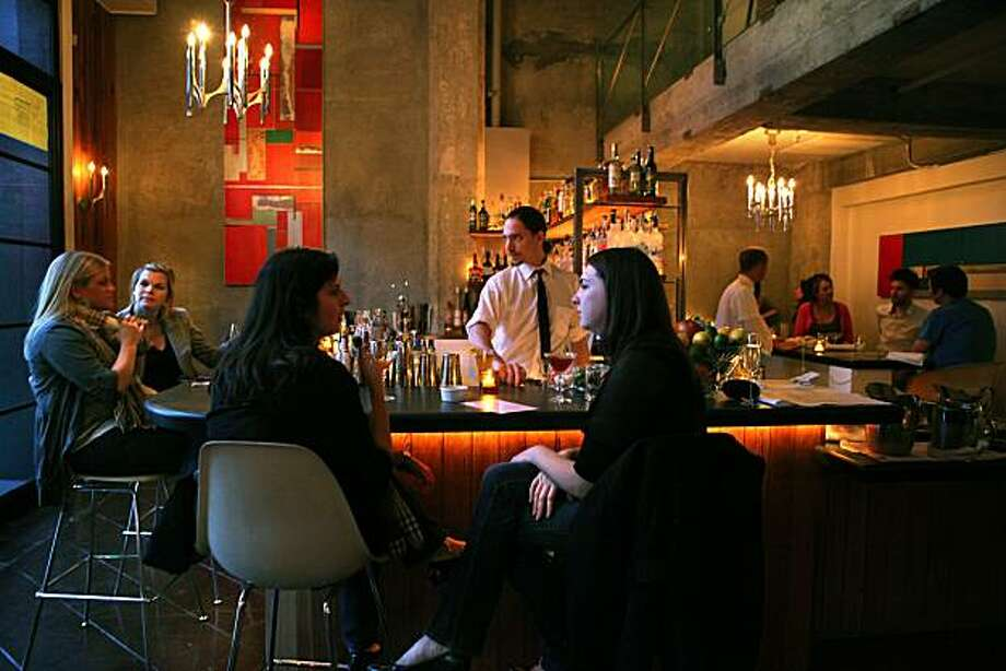 Thermidor bar area during the cocktail hour in San Francisco, Calif., on Friday, March 4, 2011. Photo: Liz Hafalia, The Chronicle