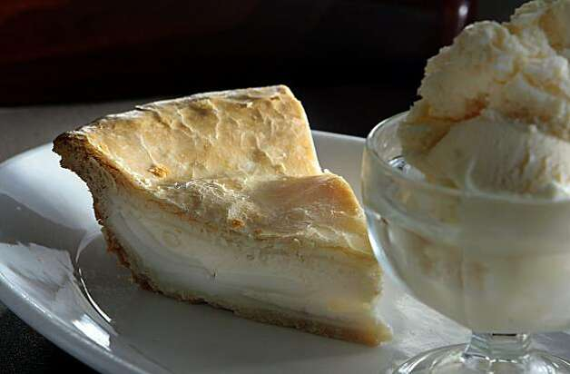 The Buko Pie with ice cream at Tselogs restaurant in Daly City,  Calif.,  is seen on Friday,  February 25th,  2011. Photo: John Storey, Special To The Chronicle