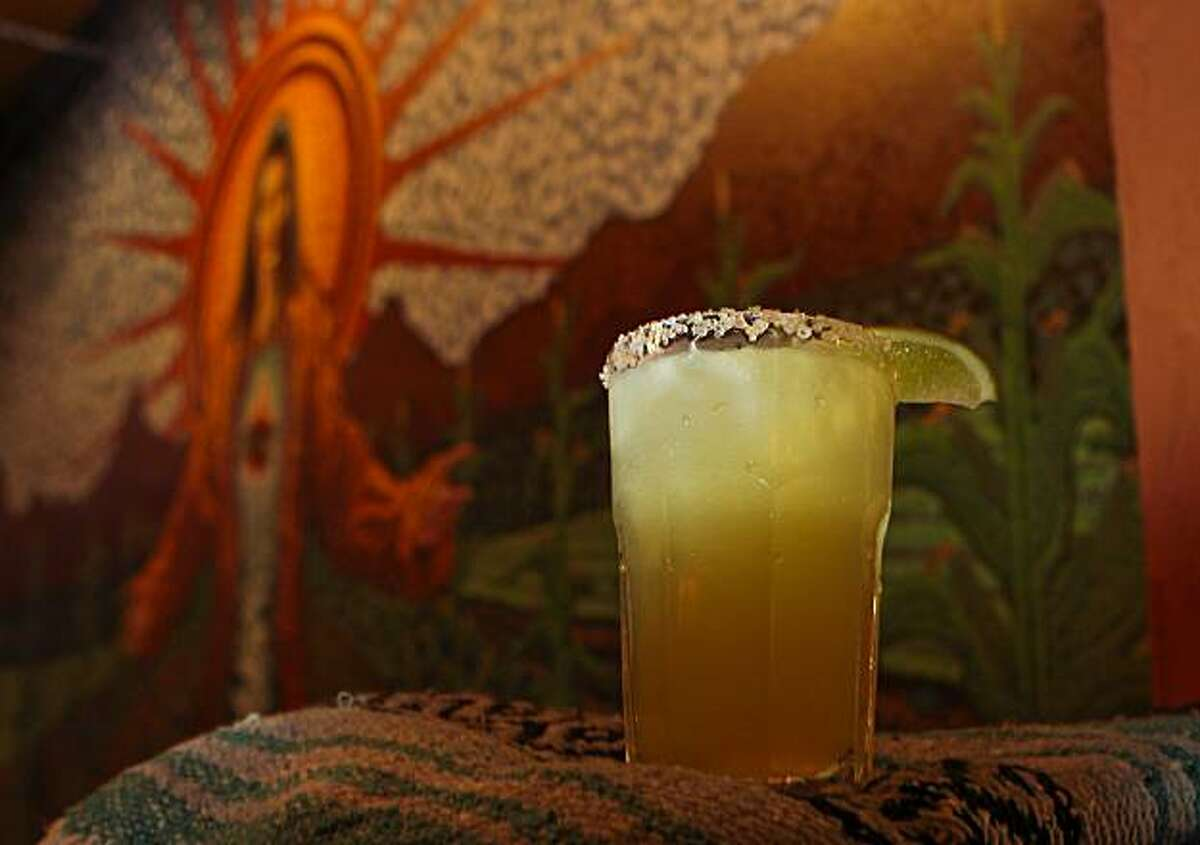 the Shoju margarita at Gracias Madre restaurant in San Francisco, Calif., is seen on Monday, January 31st, 2011.