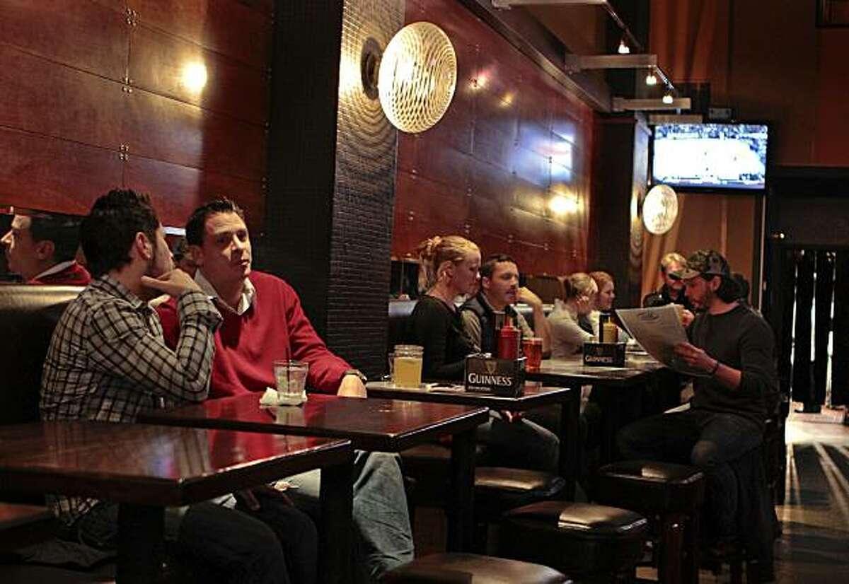 The Bullitt Bar in San Francisco, Calif., is seen on Wednesday, December 15, 2010.