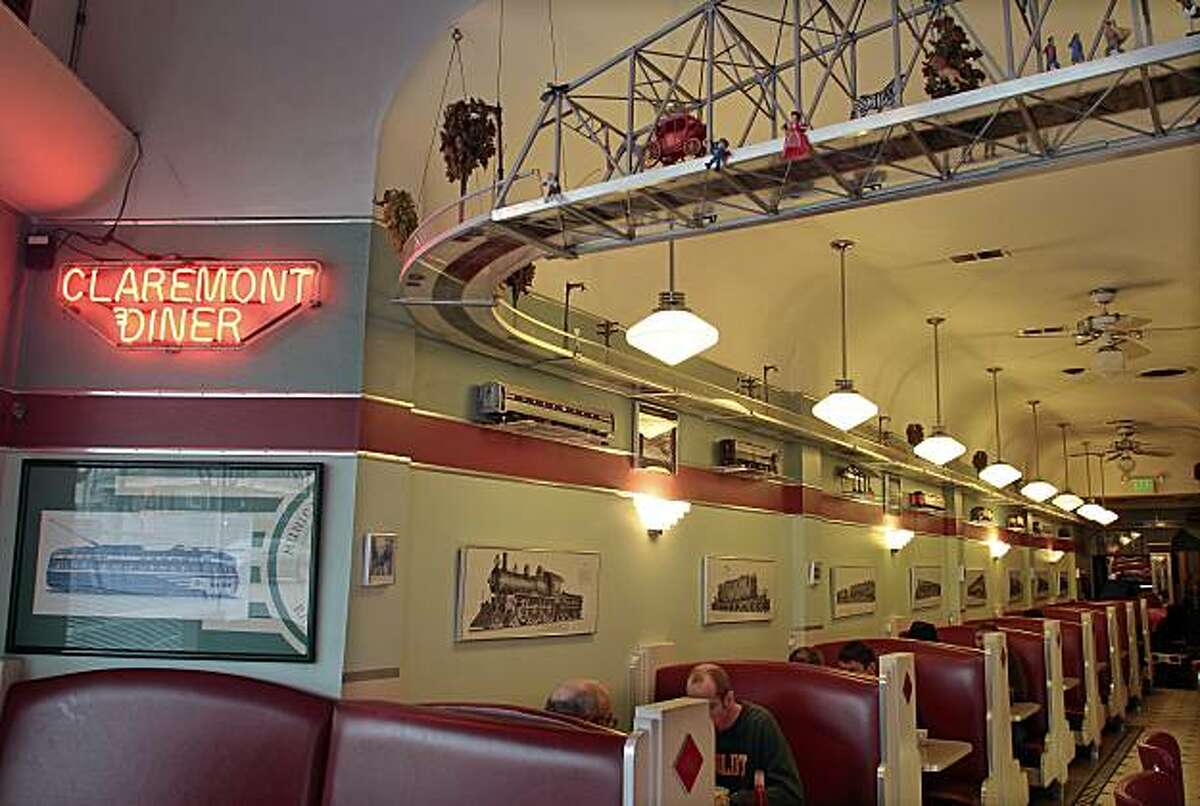 The Claremont Diner in Oakland, Calif., is seen on Friday, December 10, 2010.