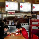 Diners enjoy lunch at Thaiger Thai Kitchen in San Mateo, Calif., is seen on Saturday, Nov. 27, 2010.
