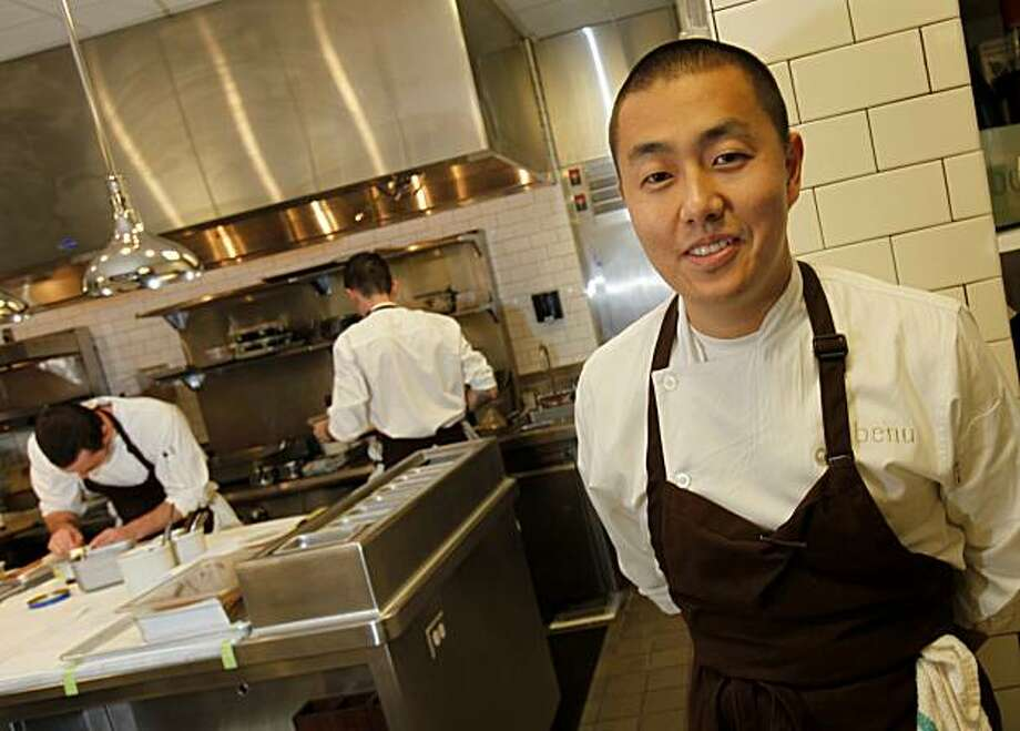 Former French Laundry chef de cuisine Corey Lee, pictured here at his four-star restaurant Benu, was instrumental in evolving the dish. Photo: Brant Ward, The Chronicle