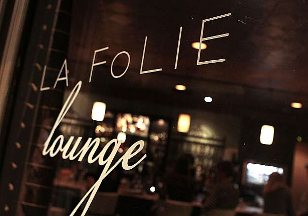 The La Folie Lounge in San Francisco, Calif., is seen on Thursday, November 4, 2010.