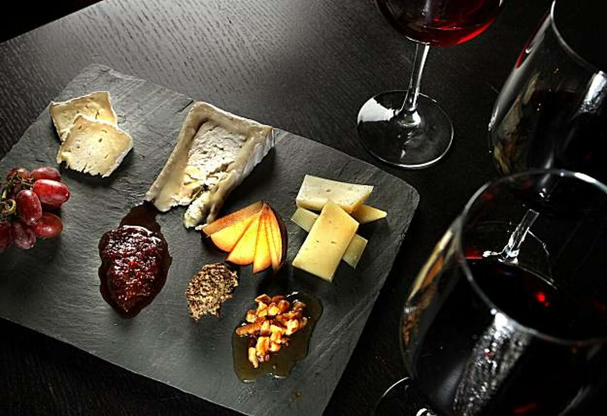 The Cheese Plate at Encuentro Restaurant in Oakland, Calif., is seen on Thursday, Oct. 21, 2010.
