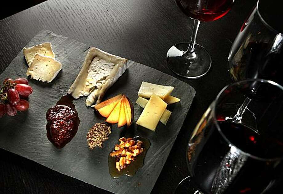 The Cheese Plate at Encuentro Restaurant in Oakland, Calif., is seen on Thursday, Oct. 21, 2010. Photo: John Storey, Special To The Chronicle