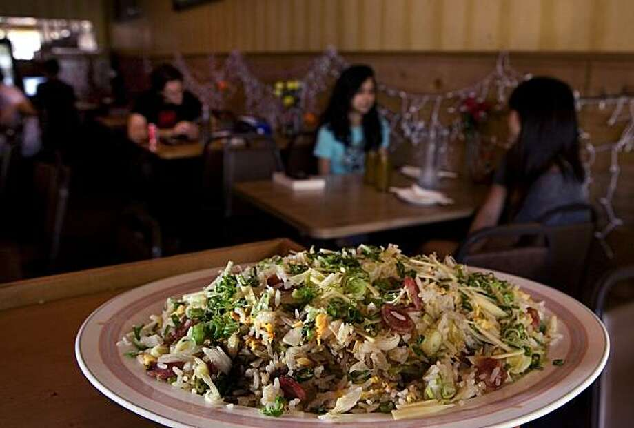 The Salt Cod Fried Rice at Lung Shan restaurant in San Francisco, Calif., is seen on Thurs., October 14, 2010. Photo: John Storey, Special To The Chronicle