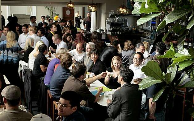 The interior of the bar at La Mar restaurant in San Francisco on Friday, July 30, 2010. Photo: John Storey, SPECIAL TO THE CHRONICLE