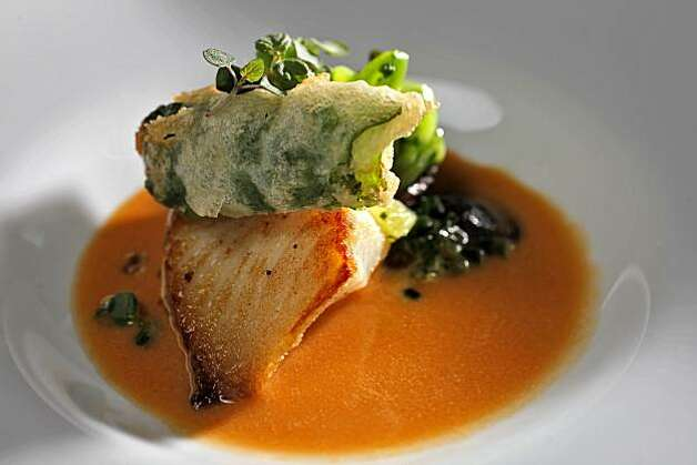 Special dishes of black cod appetizer with  crispy trotters, Thursday August 26, 2010, at the Prospect restaurant in San Francisco, Calif. Photo: Lacy Atkins, The Chronicle