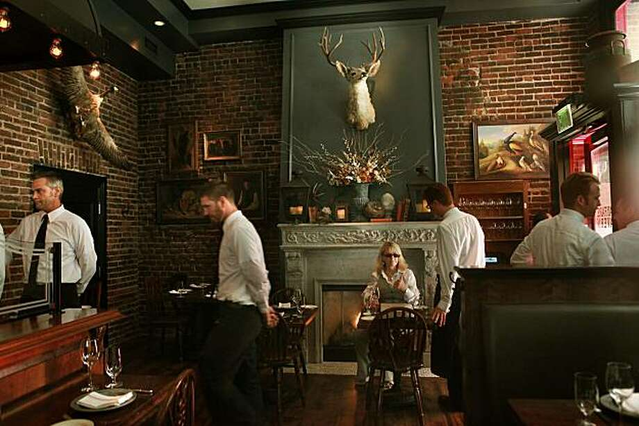 Wayfare Tavern in San Francisco. Photo: Liz Hafalia, The Chronicle