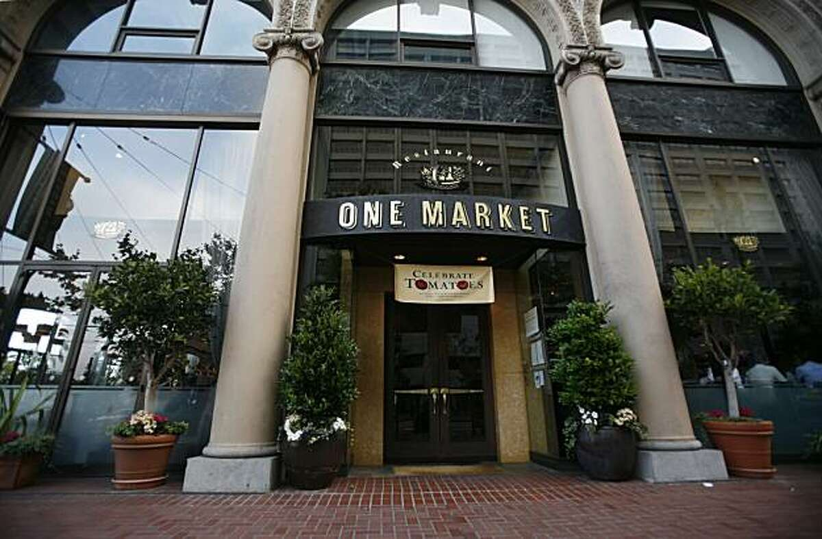 The One Market bar and restaurant is seen in San Francisco, Calif. on Thursday August 19, 2010.