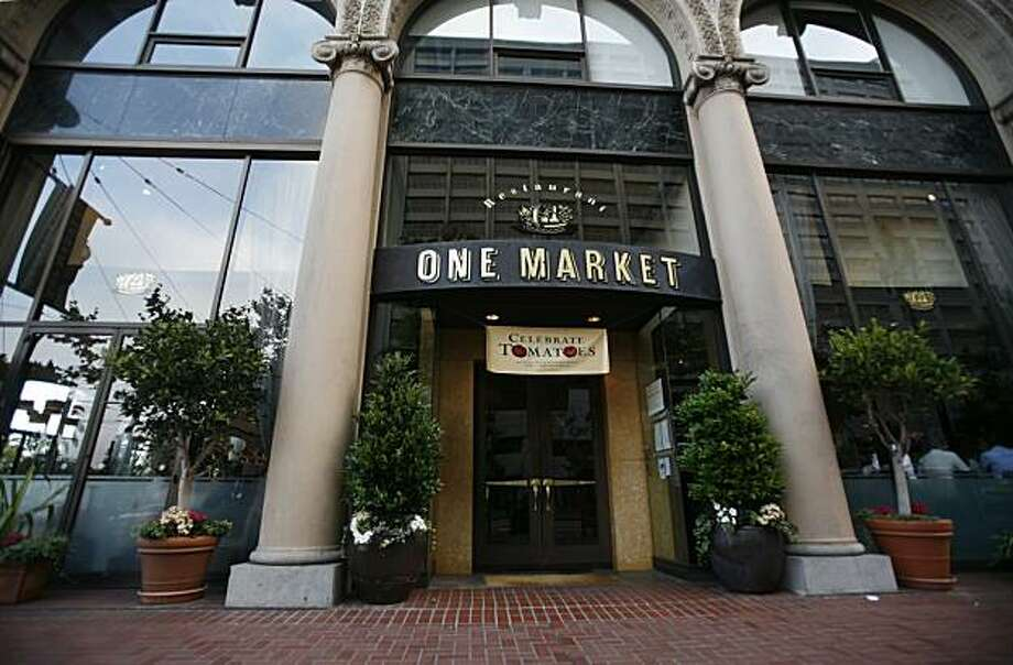 The One Market bar and restaurant is seen in San Francisco, Calif. on Thursday August 19, 2010. Photo: Jasna Hodzic, The Chronicle
