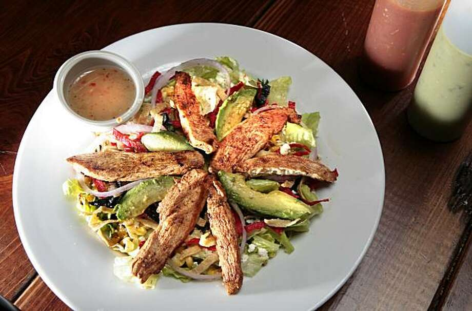 The Mexican grilled chicken salad at the Iron Cactus  in San Francisco on Friday July 30, 2010. Photo: John Storey, SPECIAL TO THE CHRONICLE