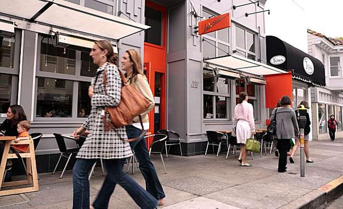 Delarosa restaurant in San Francisco on Friday, August 13th, 2010.