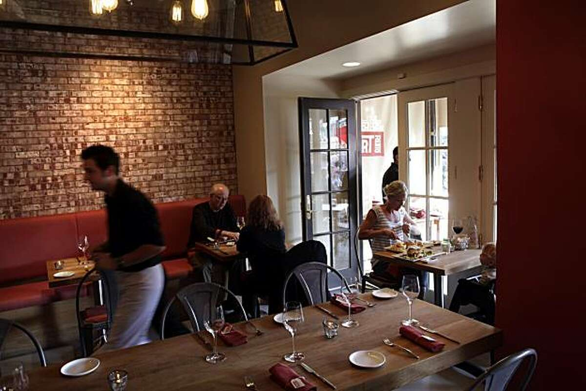 L'Appart is a new french restaurant in San Anselmo, Calif., seen here on Tuesday, July 20, 2010.