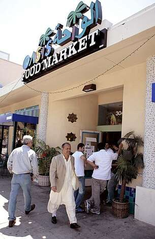 Tthe Oasis Food Market in Oakland on Friday July 23, 2010.  Ran on: 07-29-2010 Photo caption Dummy text goes here. Dummy text goes here. Dummy text goes here. Dummy text goes here. Dummy text goes here. Dummy text goes here. Dummy text goes here. Dummy text goes here. Photo: John Storey, Special To The Chronicle