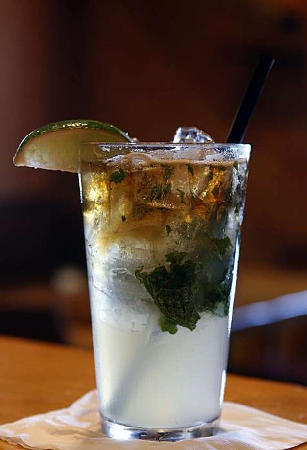 A Boca mojito is served at Boca Steak in Novato, Calif., on Tuesday, July  20, 2010. Photo: Paul Chinn, The Chronicle