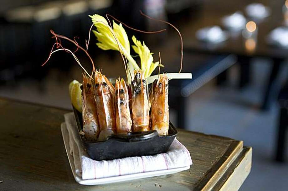 The spiced prawns at Marlowe in San Francisco, Calif., on April 5, 2010. Photo: Laura Morton, Special To The Chronicle